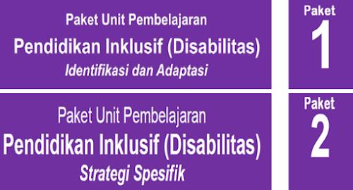 Buku Paket 1 dan 2 Pendidikan Inklusif (Disabilitas)