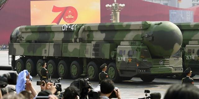 كتيبة الصواريخ الصينية ترعب المنافسين