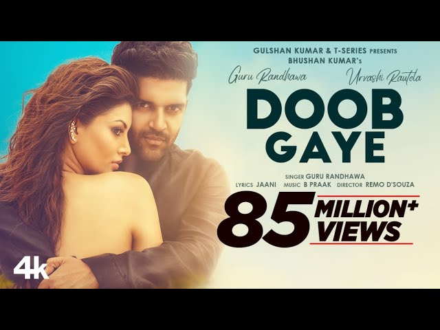 Doob Gaye Lyrics in Hindi - Guru Randhawa