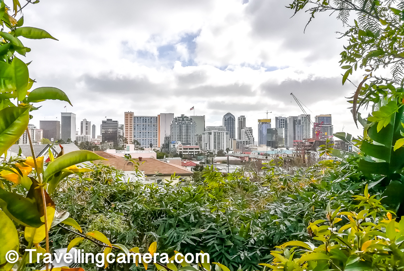 Just outside the Kitchen, there is a seating area surrounded by green plants and from here you see high-rise buildings of San Diego Downtown. This would also put things in perspective when it comes to distance between the downtown area and the homestay.