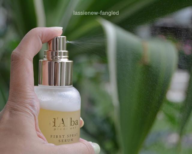 [Review] d'Alba White Truffle First Spray Serum di kulit berminyak