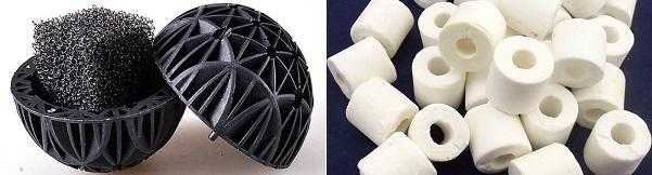How to clean aquarium bio media: bio balls & ceramic rings