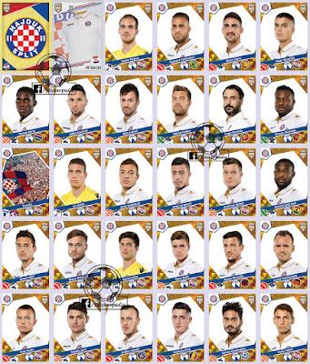 Hajduk Panini FIFA 365 2017 2018