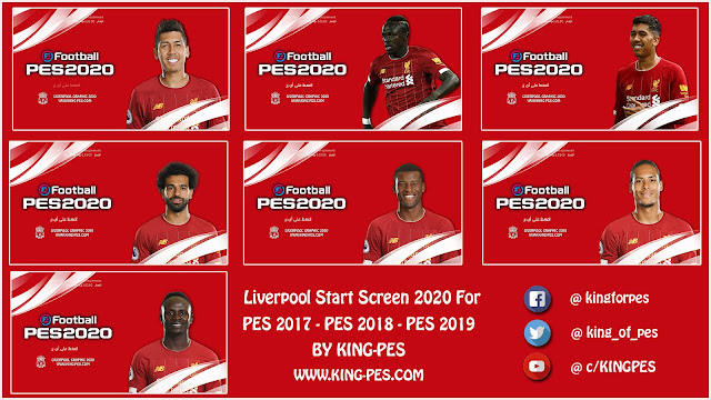 PES 17 - 19 Liverpool Start Screen By KING-PES