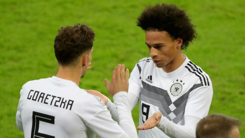 Goretzka akan 'senang' jika Sane bergabung dengan Bayern