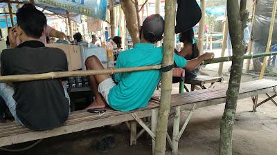 Praktek Judi Sabung Ayam di Udanawu - Blitar Mewarnai Suasana Penerapan PPKM
