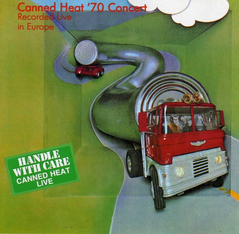 Canned Heat - Live In Europe '70 Concert | Archéo-chronique