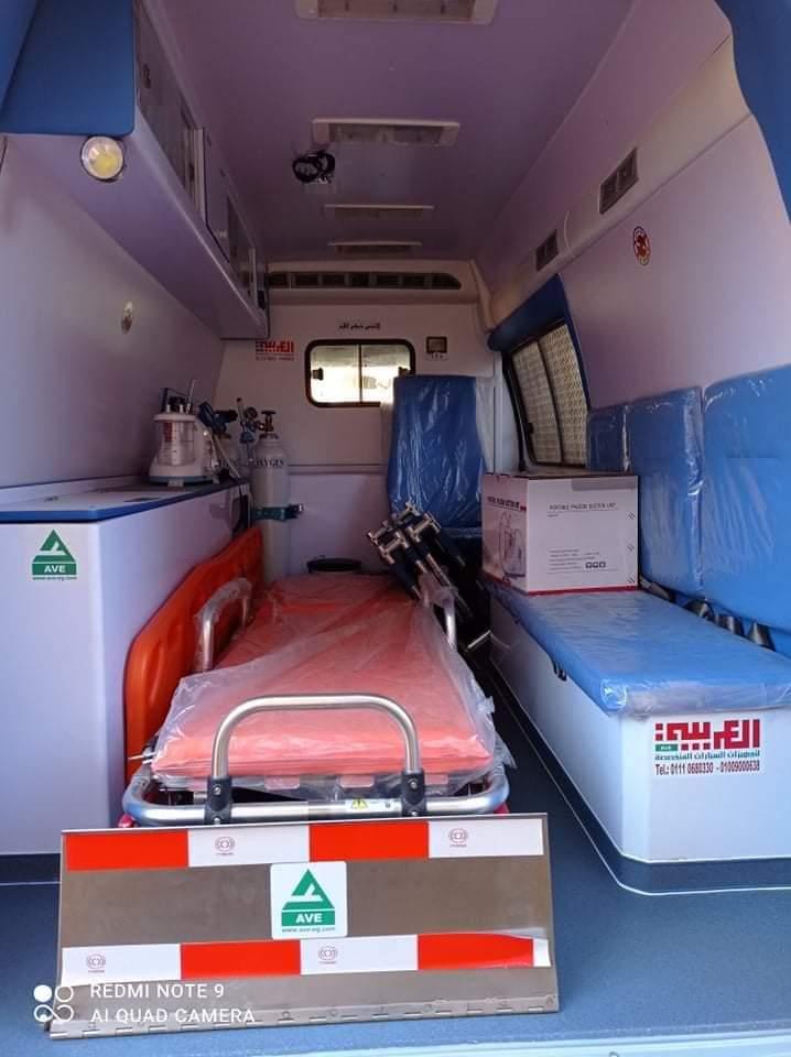 بعد أن تبرع بها «الخشن».. أين ذهبت سيارة إسعاف الوحدة الصحية بـ طهواي