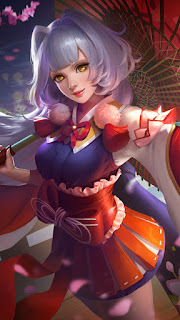 Kagura Cherry Witch Heroes Mage of Skins V3