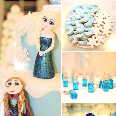 Fête d'Anniversaire La Reine des Neiges
