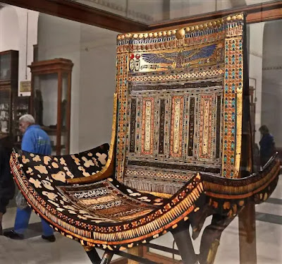 The Ceremonial Throne of Tutankhamun