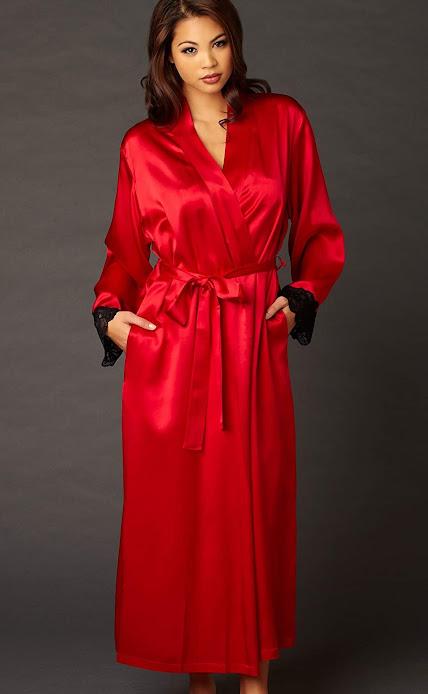 Red Silk Robes