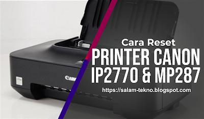 reset printer canon ip2770 mp287