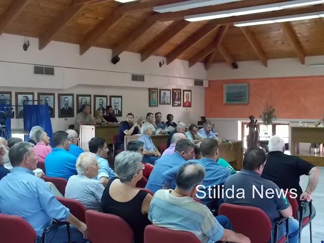 Έκτακτη συνεδρίαση του Δ.Σ. του Δήμου Στυλίδας σχετικά με το προσφυγικό!
