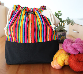 Knitting Project Bags! Andina Collection!