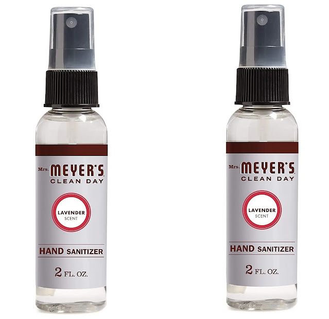 6- Mrs. Meyer's Clean Day Antibacterial Hand Sanitizer Sprayoz