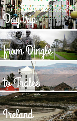 A Day Trip Between Tralee and Dingle Town in the West of Ireland By Car