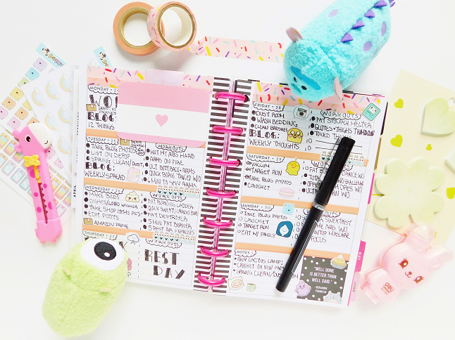 Mini Happy Planner Spread