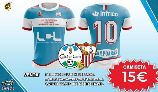 Camisetas Lucena Sevilla Copa