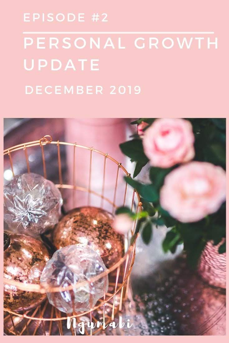 Episode #2 : Personal Growth Update December 2019