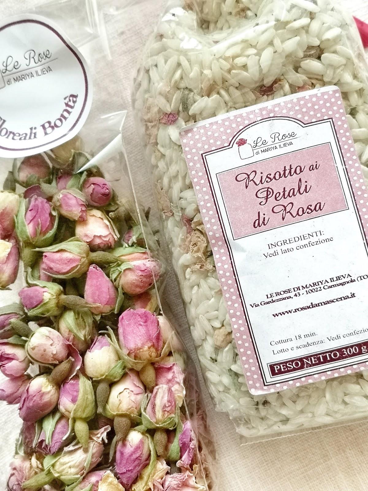 preparato per risotto alla rosa damascena