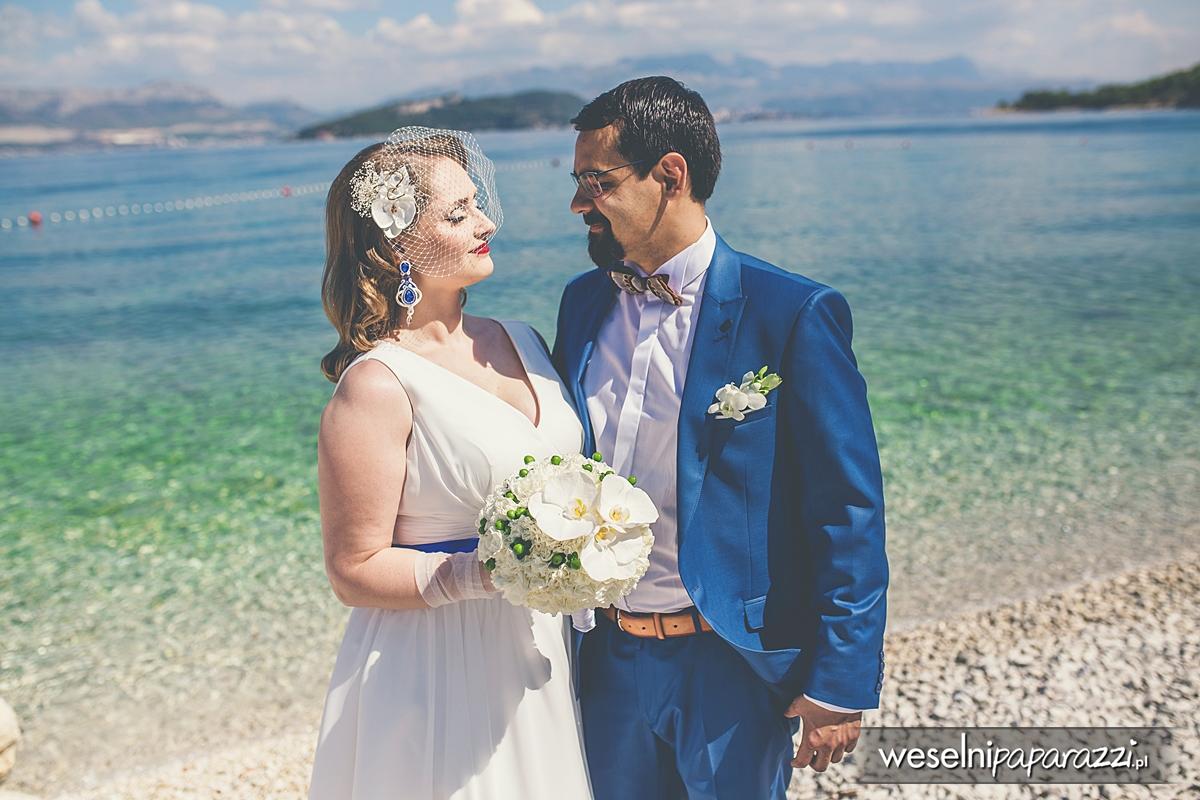 Plener ślubny na plaży