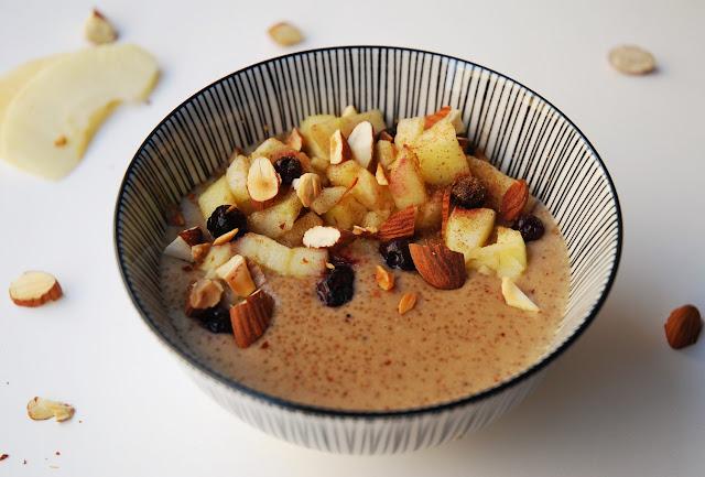 Porridge d'amarante aux amandes