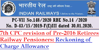7th-pay-commission-revision-of-pre-2016-retirees-railway-pensioners