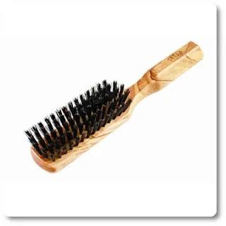 Shash The Tidy Craftsman Boar Bristle Hair Brush, Firm