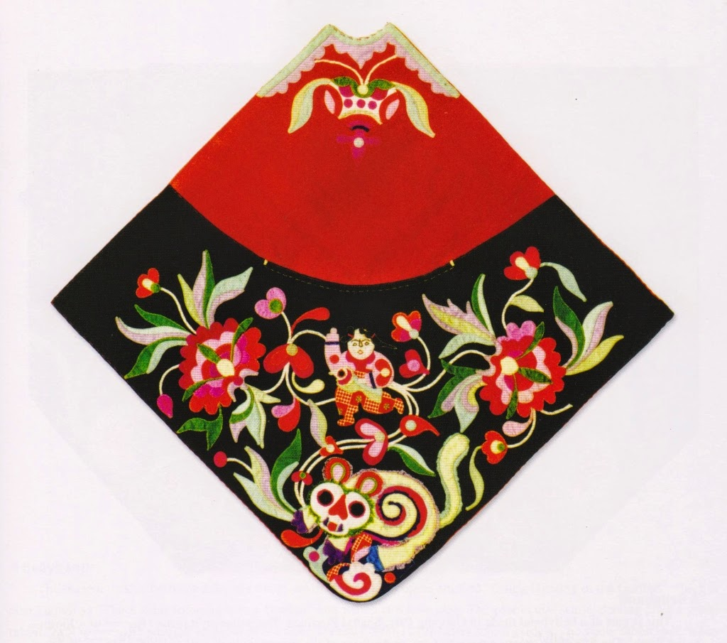 Embroidered dudou