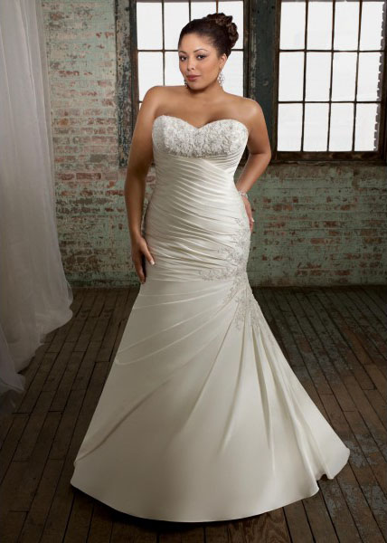 Bridal Gowns Online Shopping: Pick Up Your Plus Size Wedding ...