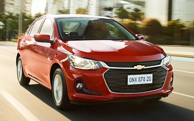 Novo Chevrolet Onix Plus 2020 tem dados de consumo divulgados