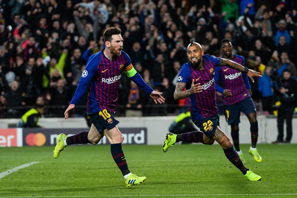 Barcelona were the only team in the top five to walk away with maximum point