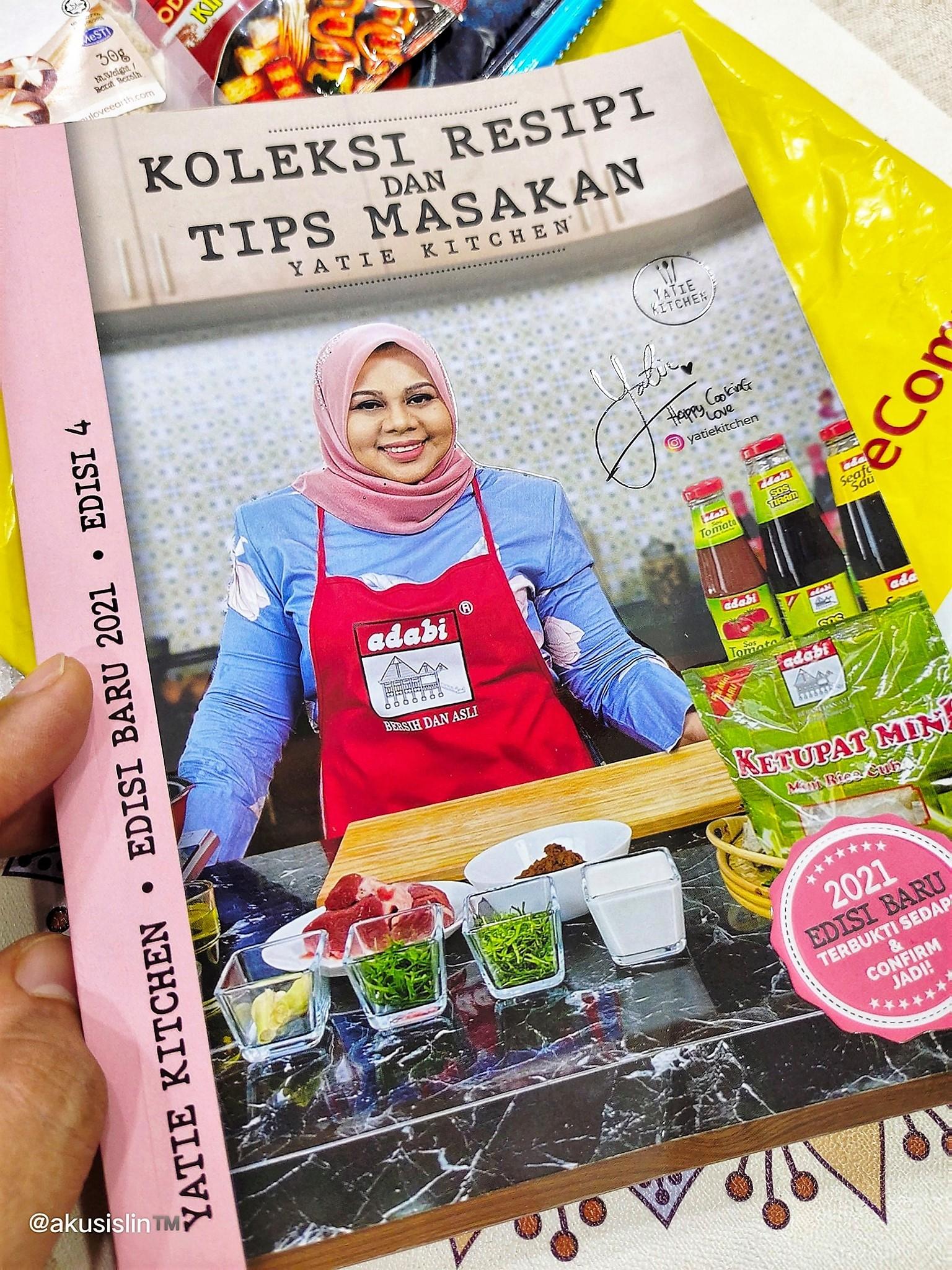 Buku Resepi Kak Yatie Kitchen Edisi Ke-4