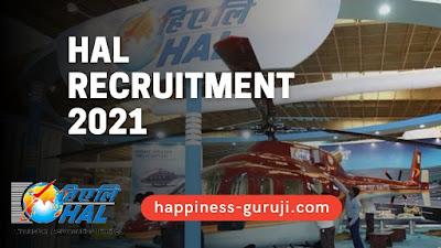 Hindustan Aeronautics Ltd (HAL) Recruitment 2021   ITI Pass can Apply Online - Happiness Guruji