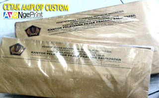 cetak amplop coklat itansi pemerintahan custom di Kebon Jeruk, Jakarta Barat
