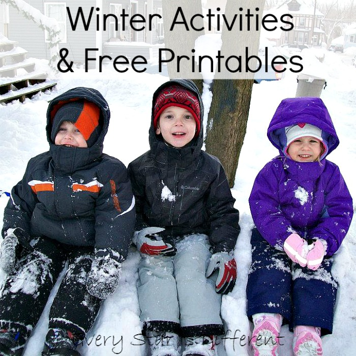Winter Activities & Free Printables