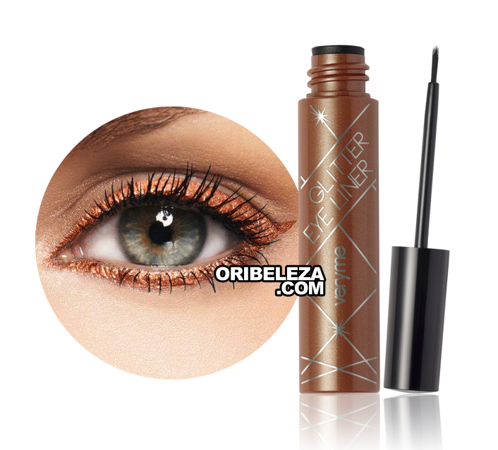 Eye Liner Glitter Very Me - Copper