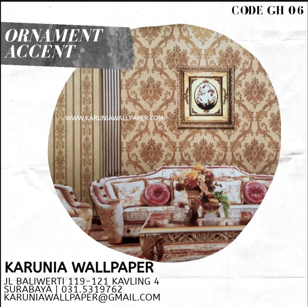 jual dinding wallpaper keren ornamen