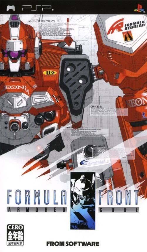 Armored Core - Formula Front - PSP - ISO Download