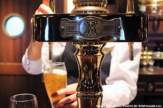 Beer Dispenser at The Teddy Roosevelt Lounge in DisneySea Japan