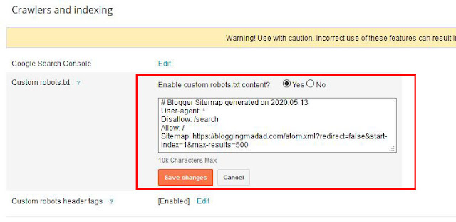 Top 5 Killer Blogspot ( Blogger ) SEO Settings 2020