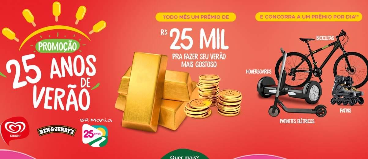 Promoção Sorvetes Kibon Verão 2019 2020 -  BR Mania