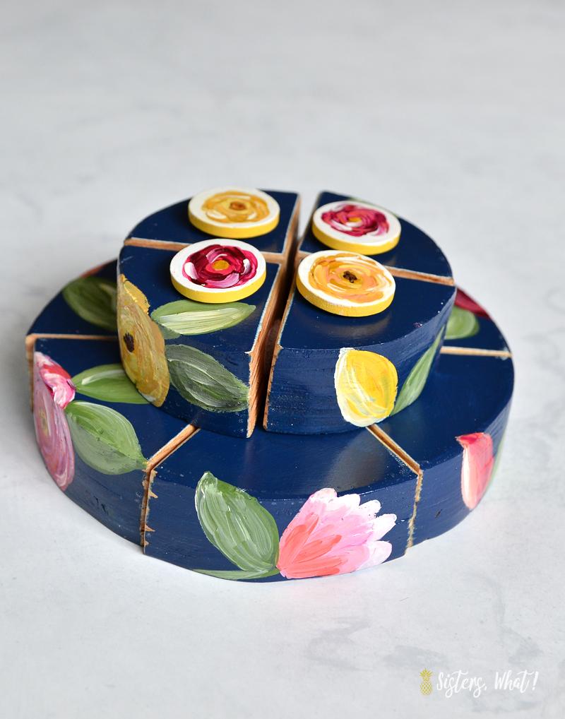 DIY play food cake slices