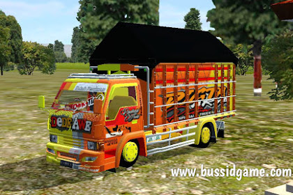 Mod Truck Canter Ragasa Dede Awe By RMC Creation