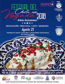 festival del chile en nogada 2018