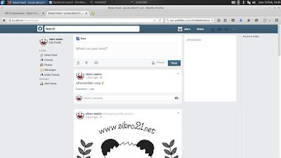 Cara Install Media Sosial OSSN (opensource-socialnetwork) di Linux