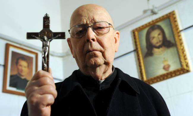 La morte di don Gabriele Amorth, esorcista celebre in tutto il mondo