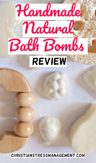 Homemade, handmade, natural bath bombs review