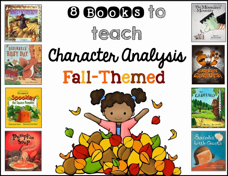 Sarah\u0027s First Grade Snippets Teaching Character Analysis in the